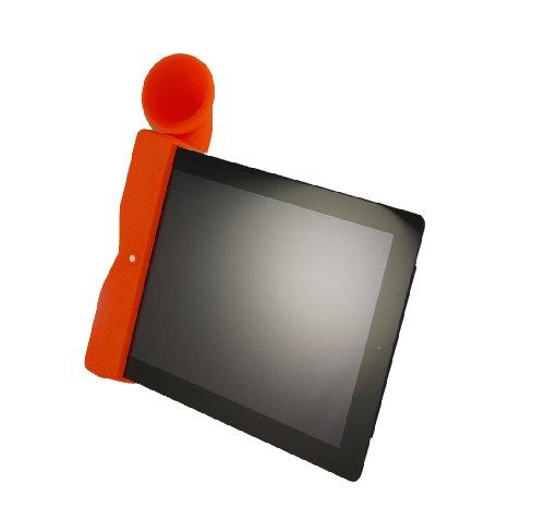 Retro Ipad Horn Speaker Stand For Ipad 2 Orange