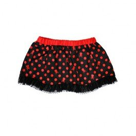 Skull & Bones Red Pixie Skirt