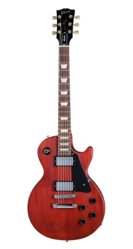 Gibson Les Paul Studio Electric Guitar,Worn Cherry Satin