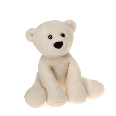 "Comfies Bean Bag Polar Bear Small 7.5"" by Fiesta - 1"