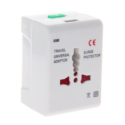 Usb Output 110~250V Ac Power Charger Worldwide Adaptor With Uk/Eu/Au/Us Plug For Electronic Devices