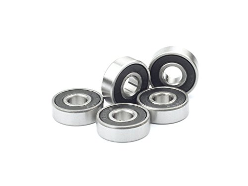 CMB 608 2RS Deep Groove Ball Bearing Double Sides sealed 8x22x7mm, 4 pieces