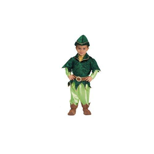 [Deluxe Peter Pan - Medium 8-10] (Child Deluxe Peter Pan Costumes)