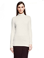Autograph Roll Neck Top with Supima® Modal