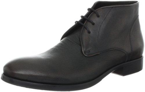 John Varvatos Men's Stanton Chukka Boot,Black Sand,10.5 M US