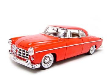 Buy 1955 Chrysler C300 Red 1:18 Scale Diecast Model