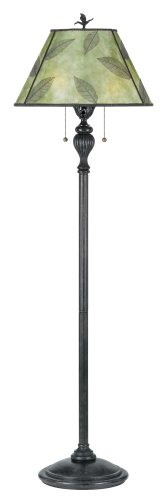Quoizel 62 - Inch Floor Lamp With Green Mica Shade, #Mc410B