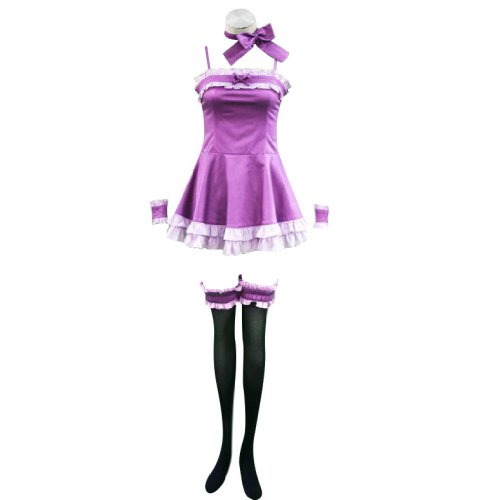Vampire Knight Cosplay Costume - Yuki Kurosu Night Dress 1St Kid Small