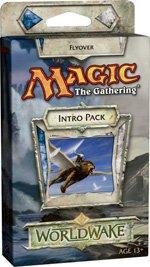 Magic The Gathering - Mtg: Worldwake Theme Deck - Flyover (Blue/White)