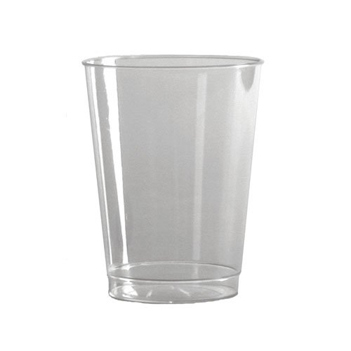 WNA T9S Comet Smooth Wall Tumblers, 9oz, Clear, Squat (Case of 500)