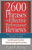 img - for 2600 Phrases for Effective Performance Reviews Publisher: AMACOM book / textbook / text book