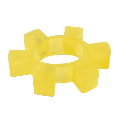 Water & Wood 85Mm X 16Mm Pu Coupling Shaft Center Spider Coupler Damper Yellow