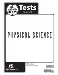 Physical Science Tests AK Gr 9 (Bju Press 5th compare prices)