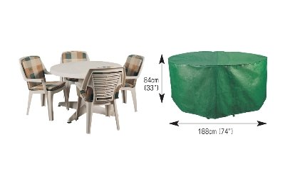 Bosmere B320 Round Patio Set Cover 4-6 seater