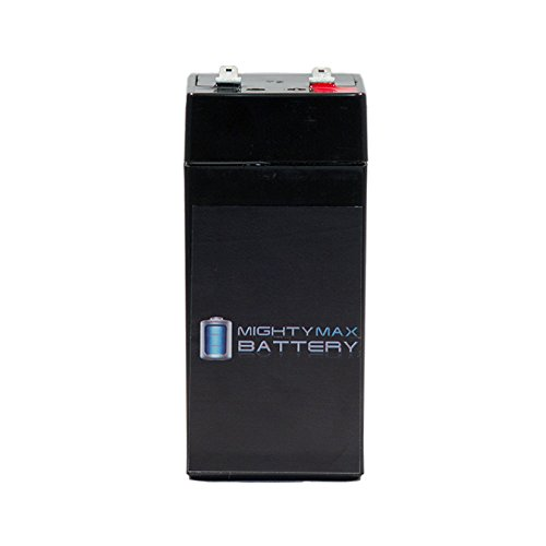4 Volt 4.5 Ah Sealed Lead Acid Battery - Mighty Max Battery brand product (4 Volt Sealed Lead Acid Battery compare prices)