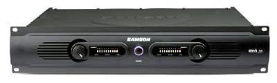 Samson Servo 200 Stereo Power Amplifier, 200 Watts by Samson
