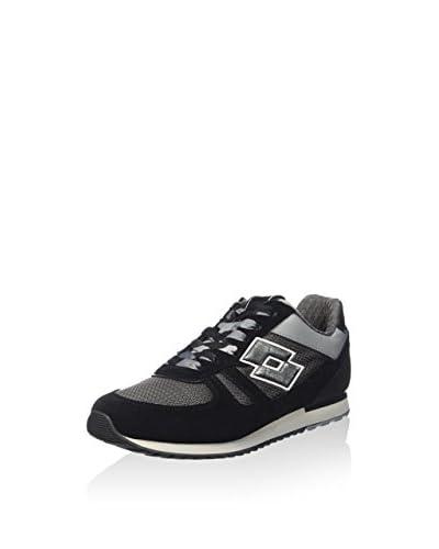 Lotto Leggenda Sneaker Tokyo Shibuya W schwarz/grau