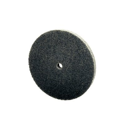 где купить 3M Scotch-Brite XL-UW Unitized Aluminum Oxide Medium Deburring Wheel - Fine Grade - Arbor Attachment - 3 in Dia 1/4 in Center Hole - Thickness 1/2 in - 15100 Max RPM - 15853 [PRICE is per CASE] по лучшей цене