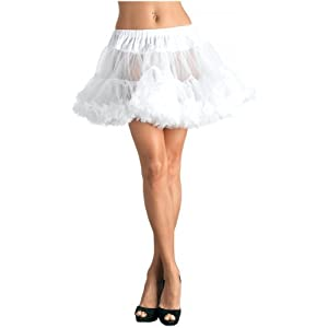 Tulle Petticoat White Plus Adult
