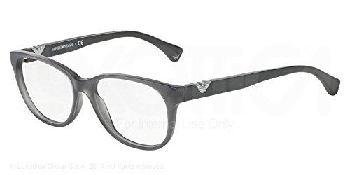 Emporio Armani Eyeglasses Ea 3039 5274 Opal Dark Grey 52Mm