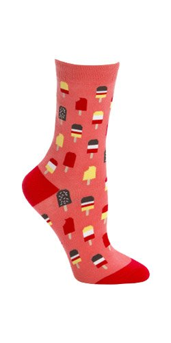 Sock It To Me Popsicles Womens Crew Socks