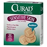 Curad Curad Sensitive Skin Bandage Spots, 50 Each