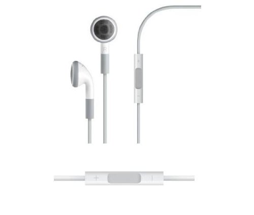 Stereo Headset Earphone With Mic And Remote Volume Adjustment For Apple Iphone 4 / 4G / 4Gs / 3G / 3Gs / Ipod Touch / Classic / Nano