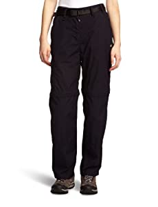 Craghoppers Womens Classic Kiwi Zip Off Convertible Walking Trousers - Dk Navy, Short-Size 16