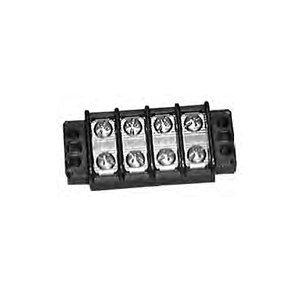 Heavy Duty 30 Amp Dual Row Terminal Block - 6 Pole : 13-1506