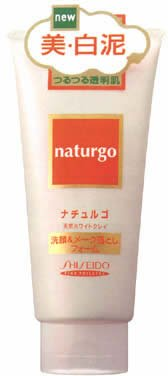 ナチュルゴ ホワイトクレイ洗顔&メークF 120g