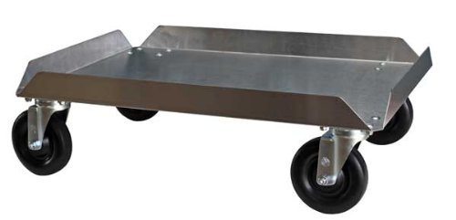 "Bun Pan Dolly, Stainless 18x26, 5"" Casters"