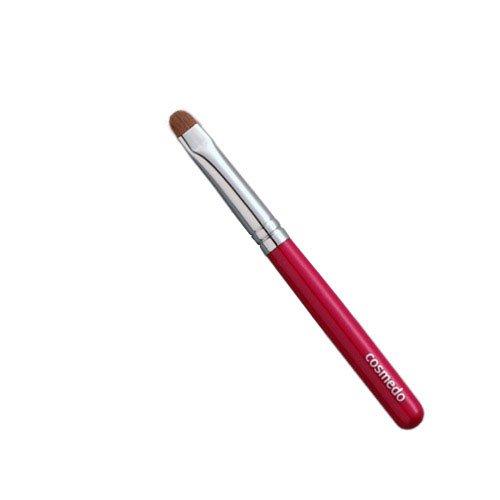 匠の化粧筆コスメ堂 熊野筆メイクブラシ ショートタイプ 先丸アイブローブラシ