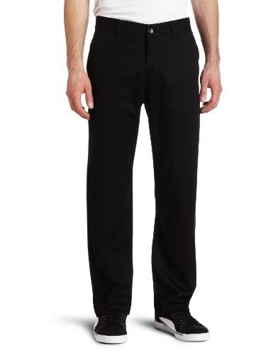Etnies Pay Day Chino Straight Men's Trousers Black W32 IN