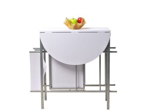 Krasavic kitchen table with drop down functional top for Pull down kitchen table
