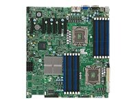 Supermicro Dual LGA1366 Xeon/Intel 5520/V/2GBE/EATX Server Motherboard (X8DTE-O)