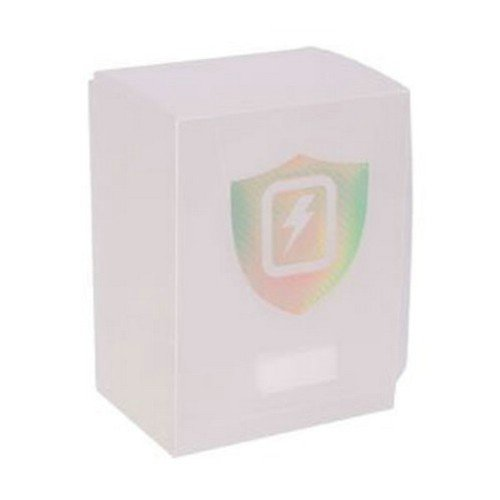 White Transparent Vertical Deck Box - 1
