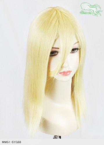 スキップウィッグ 魅せる シャープ 小顔に特化したコスプレアレンジウィッグ フェアリーミディ ミルキィゴールド