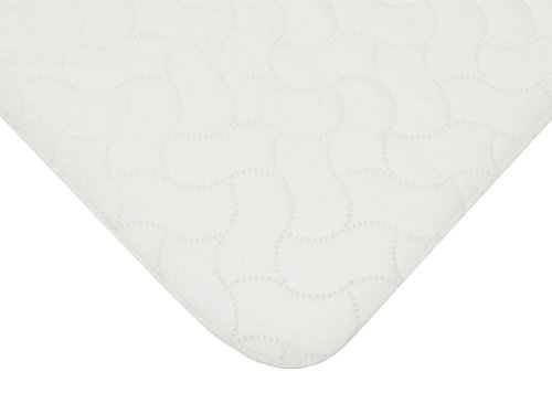American Baby Company 2853 Waterproof Flat Crib and Toddler Pad (White)