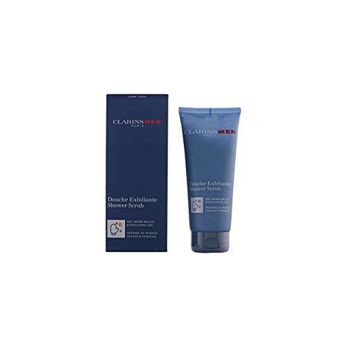 CLARINS - MEN douche exfoliante 200 ml-hombre
