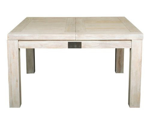 Mobilier table table carr e avec rallonge pas cher - Table carree a rallonge ...