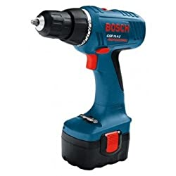 Bosch Cordless Drill/Driver, GSR 14.4-2 Professional, Wood- 35 mm, Steel- 13 mm, 400/1400 rpm, 0 601 918 GK0