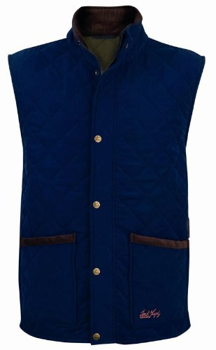 Jack Murphy Eoin Quilted Gilet Heritage Green M
