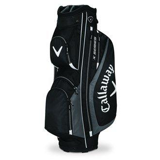 Callaway X Series-Borsa da Trolley da golf, Unisex, Negro / Charcoal