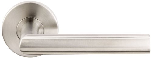 INOX RA107DR-32D Ra Rosette 107 Stockholm Lever, Right Half Dummy or Closet, Satin Nickel