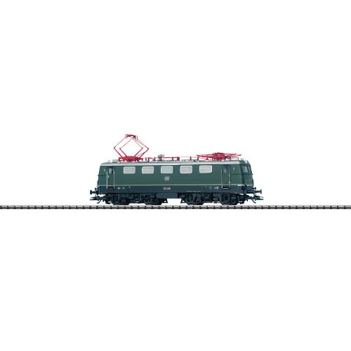 Trix HO Scale Electric Class E 41 Locomotive German Federal Railroad DB #E 41 208 (Era III Scheme, green) - Sound  and  DCC/Selectrix Equipped