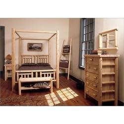 Quilt Canopy Bedroom Set