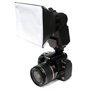 Mini-Universeller Studio Softbox-Blitzdiffusor für Canon, Nikon, Olympus, Pentax, Sony Blitzgeräte