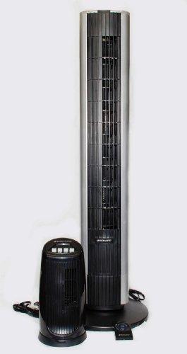 Bionaire BTF4010CR-BCU Tower Fan Combo, 40