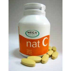 Mega We Care Nat C 1000 Mg. 150 Tablets. [Get Free Herbal Lozenges]