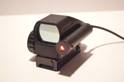 Acid Tactical Green & Red 4 Reticle Reflex Holographic Electro Sight With Laser Rds-33X For Shotgun Rifle Pistol
